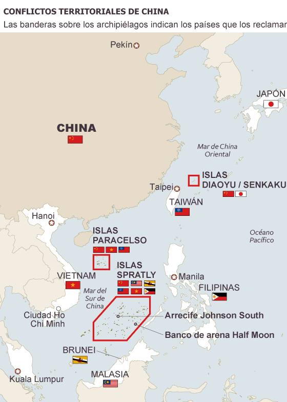 Resultado de imagen de Mar de la china, herodoto, boix