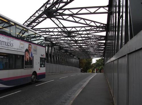 BUS ON THE BRIDGE