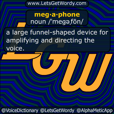 megaphone 11/04/2017 GFX Definition