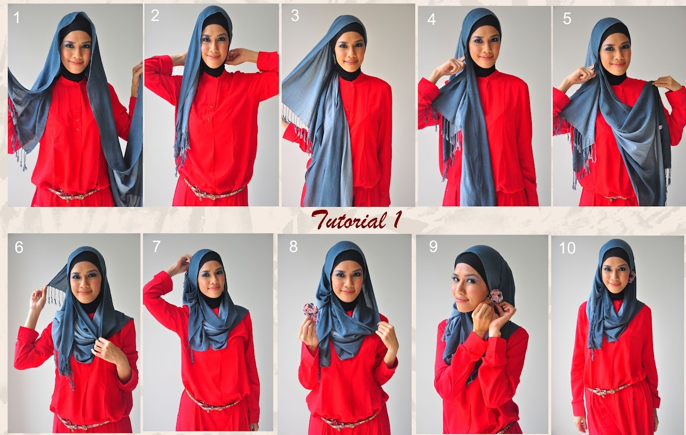 30 Hijab Styles Step By Step Style Arena