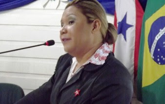 Dilma Serrão, prefeita de Belterra