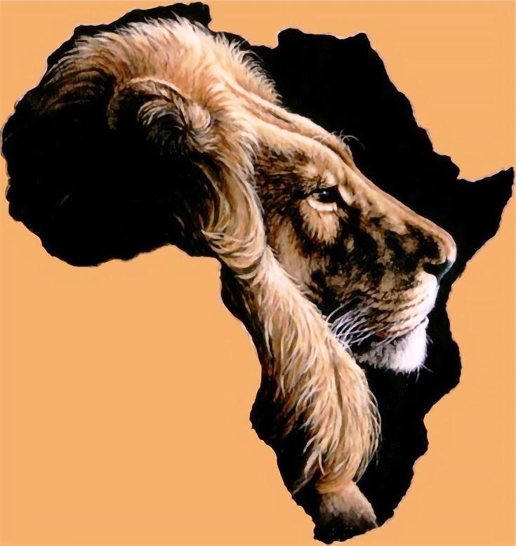 Debbie Le Sueur: Wild African Animal Paintings on Leather