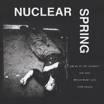 "Nuclear Spring - s/t 7"" cover art"