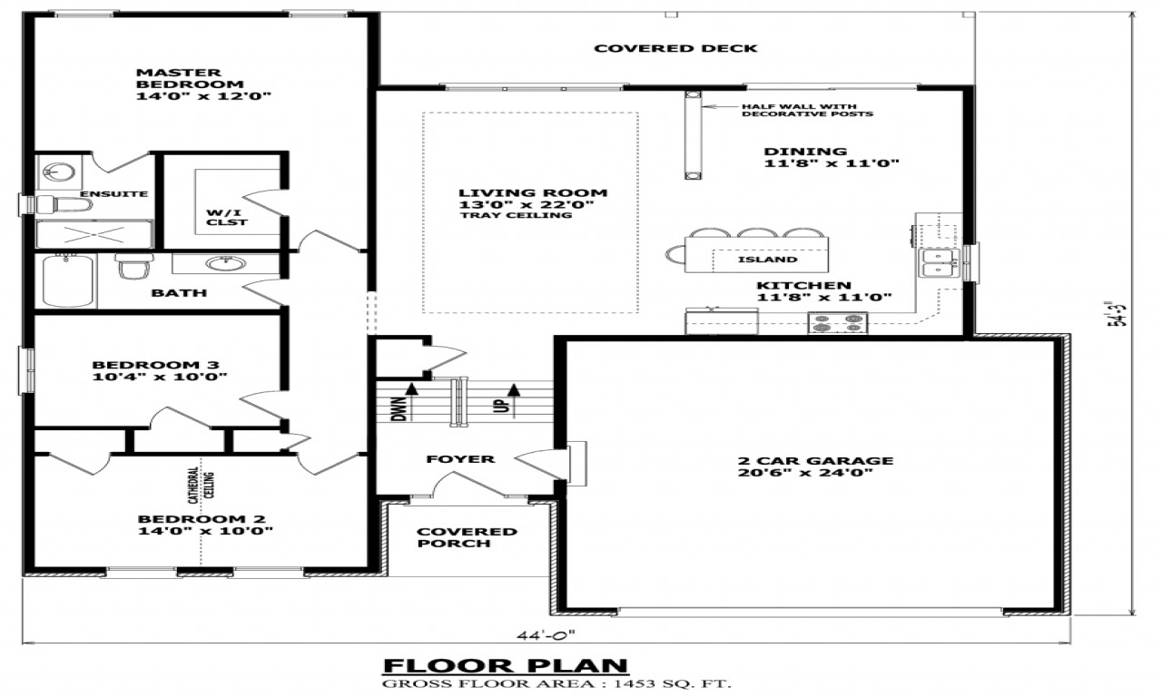 Raised House  Plans  Old Bungalow Style Raised Bungalow