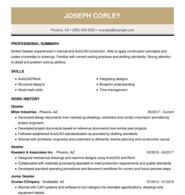 cv examples for engineers  sample resume for entry level