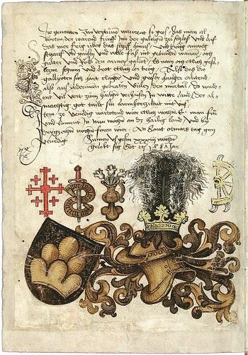 Konrad von Grünenberg - Beschreibung der Reise von Konstanz nach Jerusalem 1487 j
