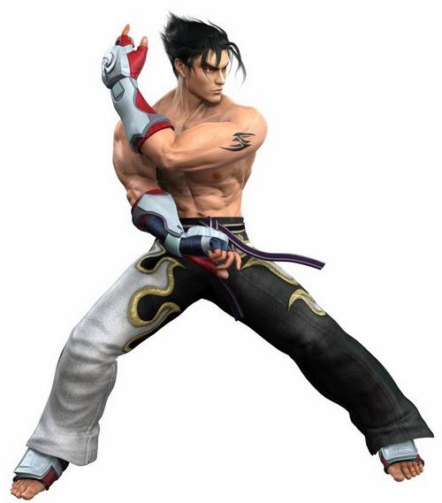 17 jin kazama tekken5 Top 20 personagens masculinos mais bonitos dos games