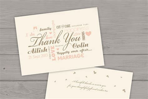 18 Beautiful Wedding Thank You Cards from Irish Stationery