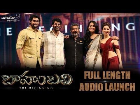 Watch Baahubali Audio Release Live Streaming