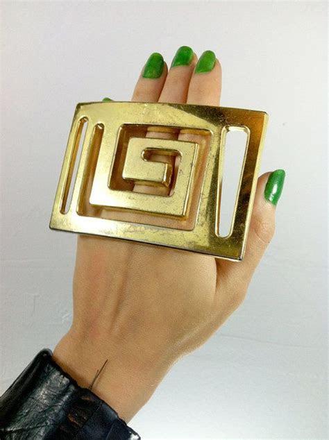Oversized Handmade Plastic Costume Jewelry Ring OOAK by