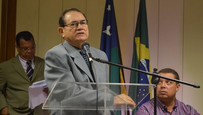 Carivaldo de Souza, FSF, Coronel Nunes, CBF (Foto: João Áquila / GloboEsporte.com)
