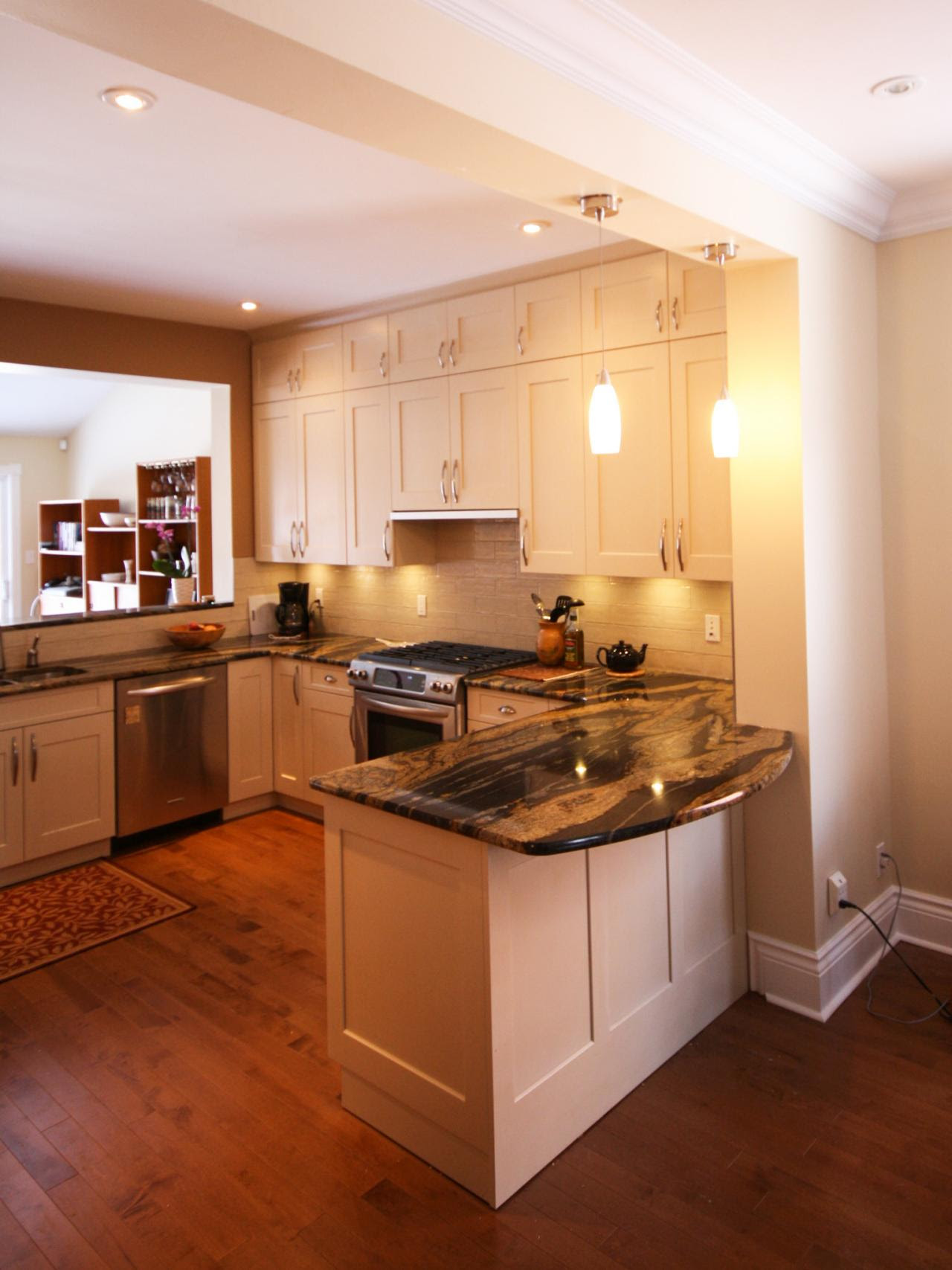U-Shaped Kitchen Design Ideas: Pictures