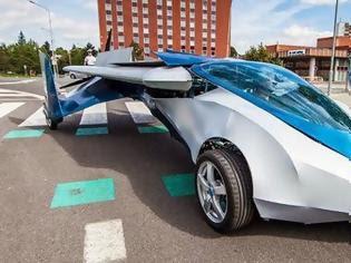 Φωτογραφία για Αυτό είναι το σούπερ ντιζαϊνάτο ιπτάμενο αυτοκίνητο που σχεδίασαν Σλοβάκοι μηχανικοί