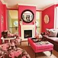 Living Livelier: National Pink Day: Pink Interior Round-