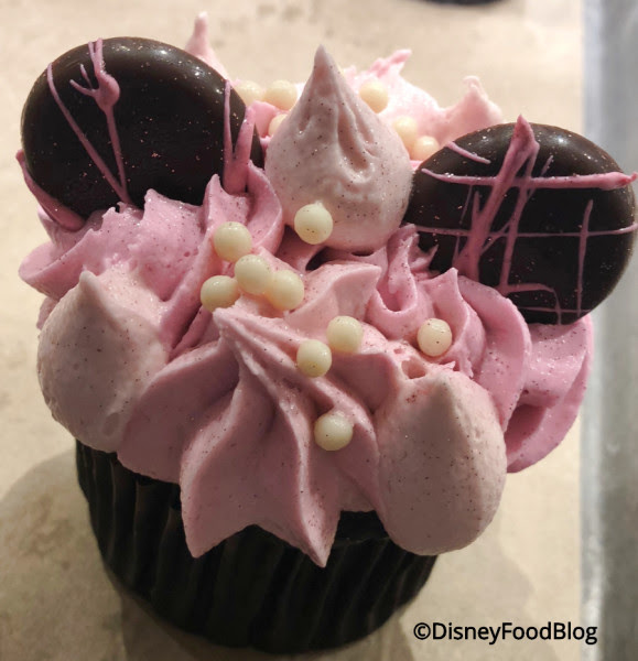Millennial Pink Headband Cupcake at Landscape of Flavors