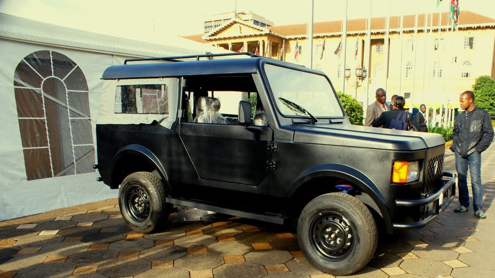 First car built in Kenya with chassis in Nairobi on 15 November 2014