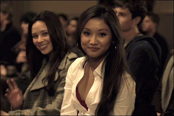 Malese Jow and Brenda Song in THE SOCIAL NETWORK.