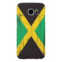 Jamaican Grunge Flag Samsung Galaxy S6 Cases