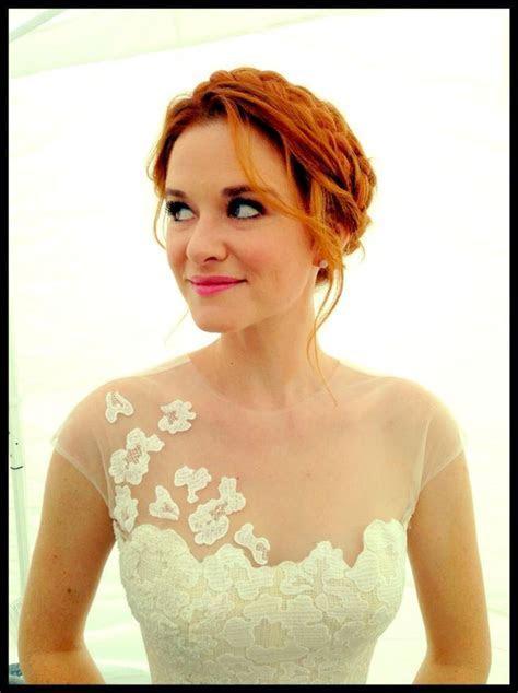 April Kepner wedding Dress/hair    one day   Pinterest