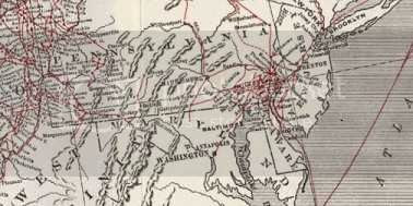 slave escape routes in Maryland and Delaware