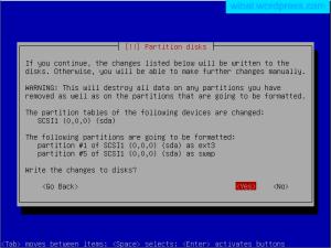 install linux debian 5