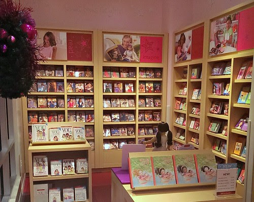 Bookstore, ground floor, American Girl San Francisco