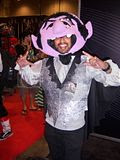 2012 Toronto Fan Fest - the Count<span style=