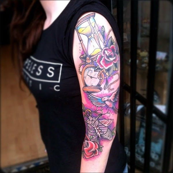 101 Catchy Half Sleeve Tattoos For Girls And Boys