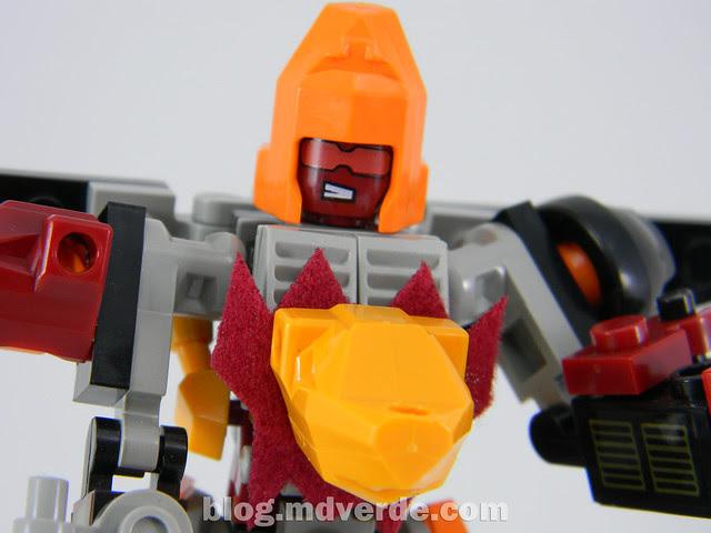 Transformers Predaking Kre-O - modo combinado