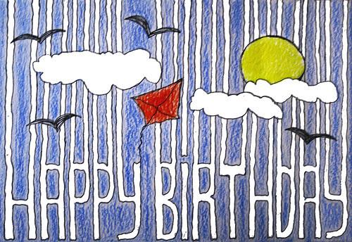 happy birthday by Naïma.