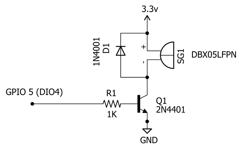 schematic for the transducer