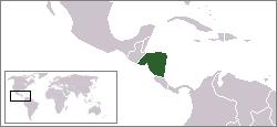 Ubicación de Centroamérica