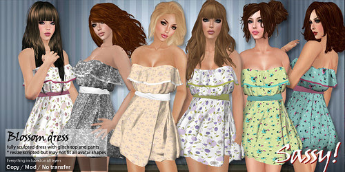 Ad - Blossom dress - all colors