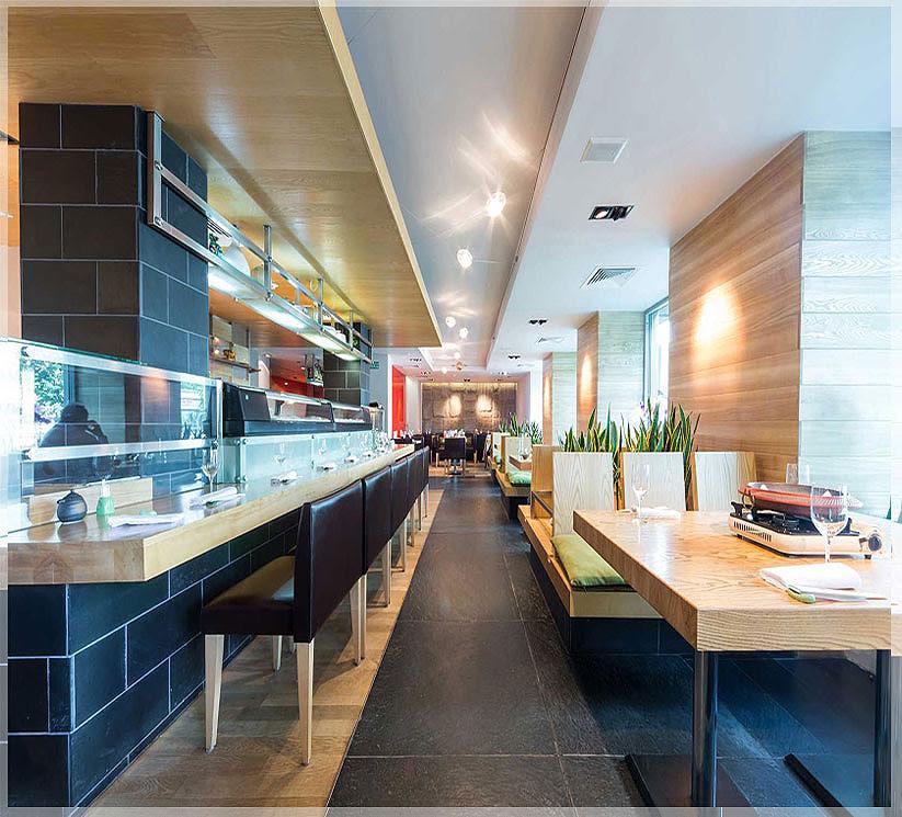 Desain Interior Restoran Minimalis nan Mewah – Jasa Desain