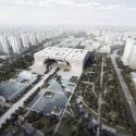 Changzhou Centro Cultural (1) © Crystal Digital Technology