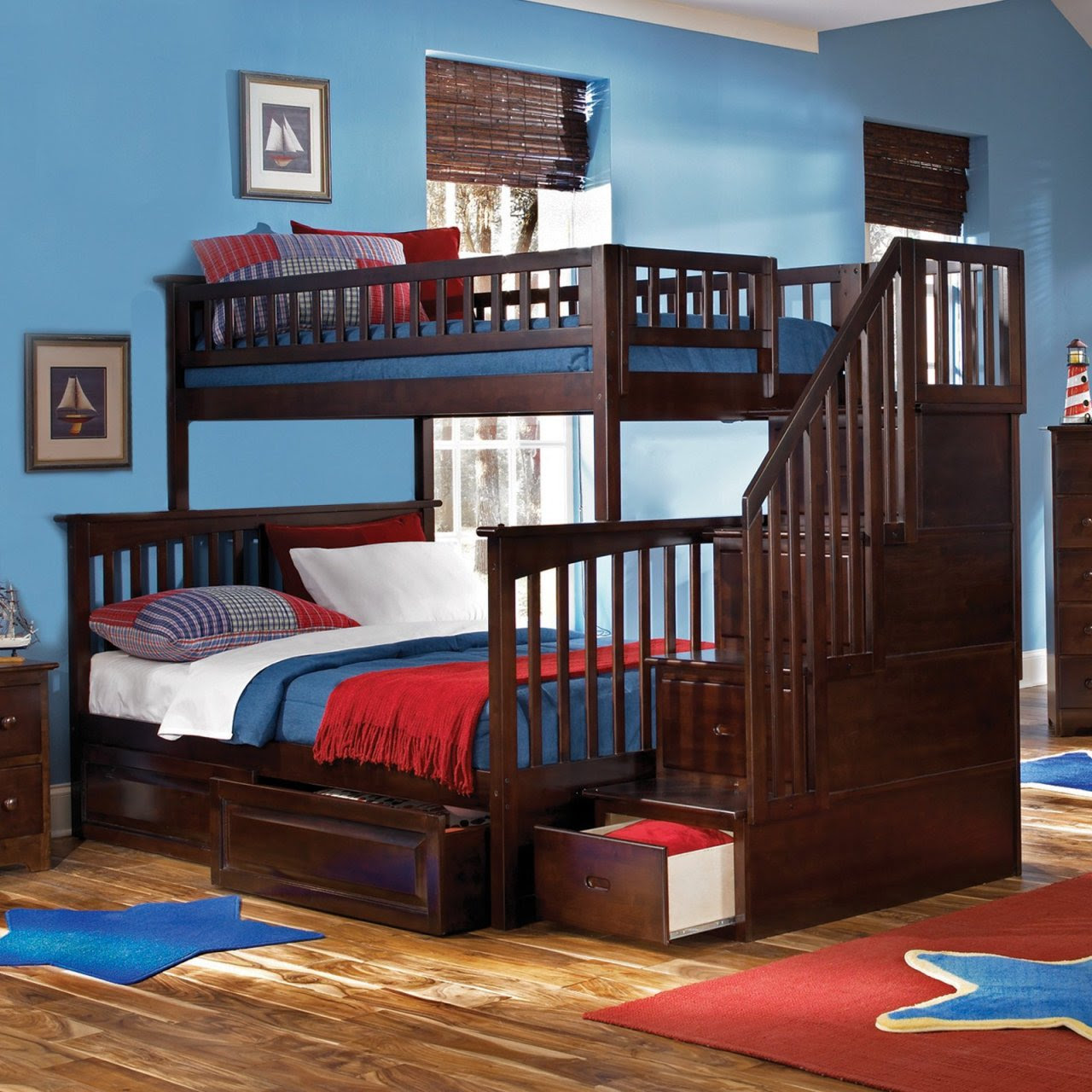 Cool Awesome room bedroom bed loft dream room bunk beds bunkbed ...