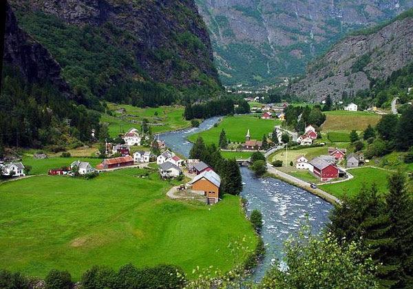 perierga.gr - Flam Valley: Μια ονειρεμένη κοιλάδα, σκηνικό παραμυθιού!