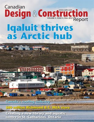 Canadian Design and Construction Report -- Fall 2012