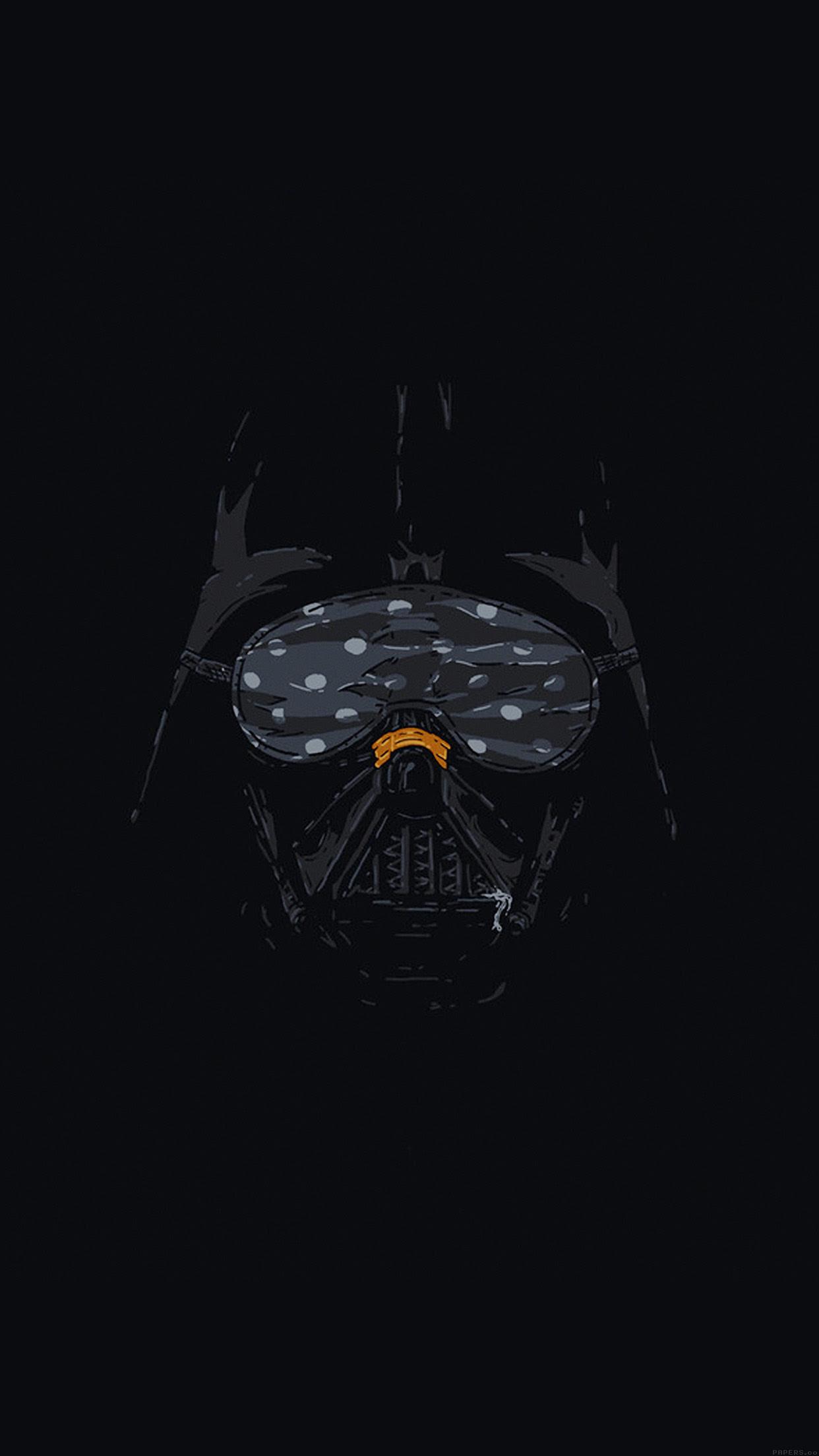 Iphone6papers Ah87 Darth Vader Minimal Starwars Illust Art