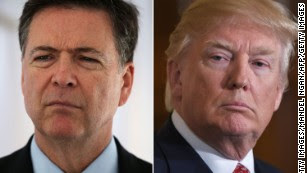 Comey prepped responses ahead of Trump discussions