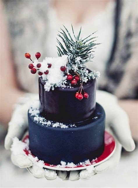 Winter Wedding Cakes: 7 Delicious Cakes For A Beautiful
