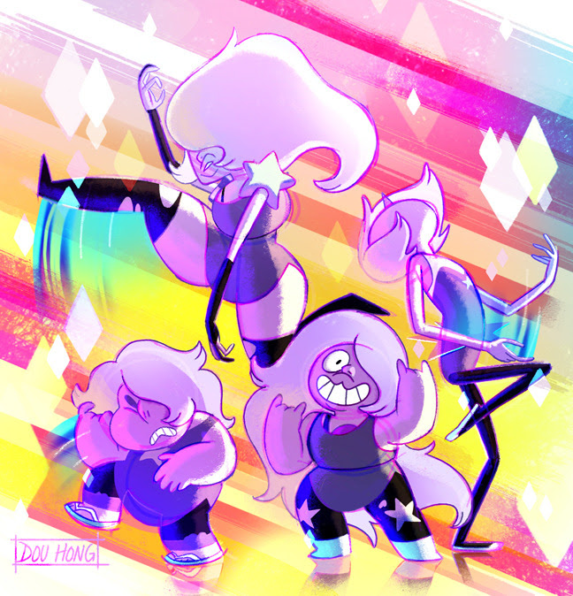 Amethyst looks like you have something in common with the gang…