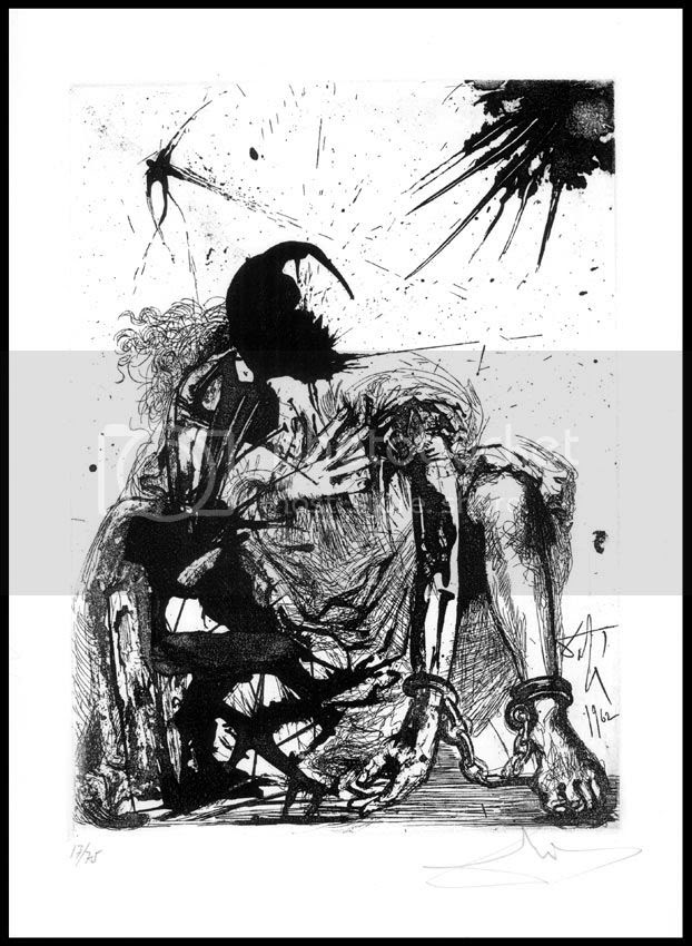 Dalí -Angel encadenado-