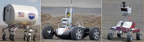 NASA testa robôs lunares e novas roupas espaciais