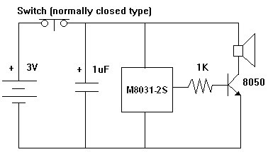 M8031 Ding Dong Circuit Diagram All