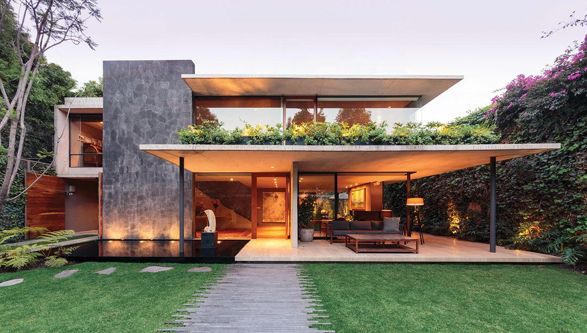 International home style - House design plans