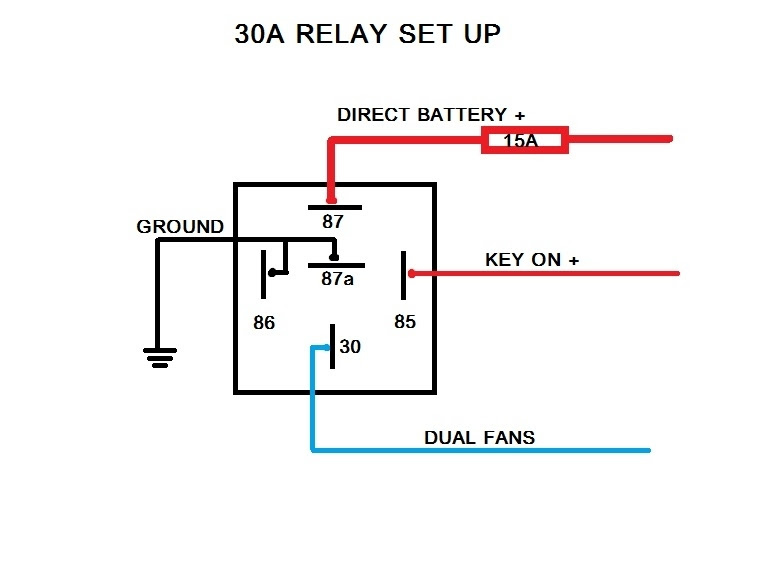 Bosch Relay 12v 30a Wiring Diagram