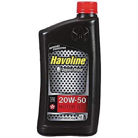 Intercontinental automotive havoline deposit shield 5w 30 for 20w50 motor oil temperature range