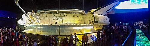 Atlantis Panoramic at Grand Opening for #ShuttleAtlantis #SpaceShuttleAtlantis by Fifth World Art