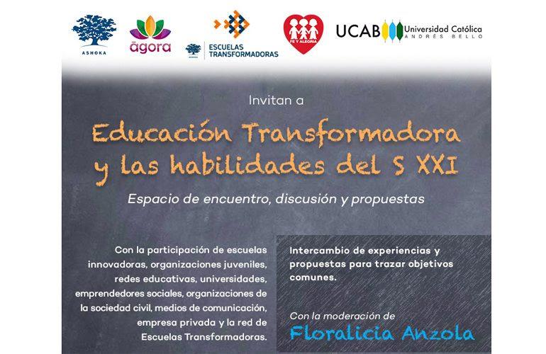Educación Transformadora dará a conocer iniciativas educativas